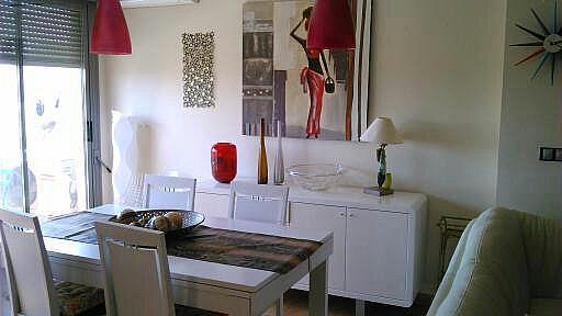 Comedor - Apartamento en alquiler de temporada en calle Paseo de la Alameda, Valencia - 156604263