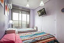 Cocina - Apartamento en alquiler de temporada en calle Paseo de la Alameda, Valencia - 194023832