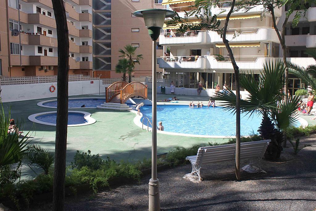 Piscina - Estudio en alquiler en calle Carles Buigas, Capellans o acantilados en Salou - 329909468