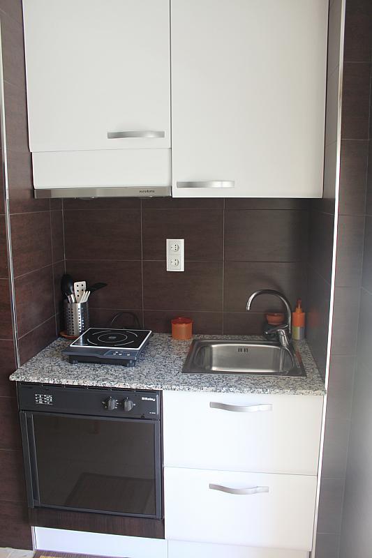Cocina - Estudio en alquiler en calle Carles Buigas, Capellans o acantilados en Salou - 329909518
