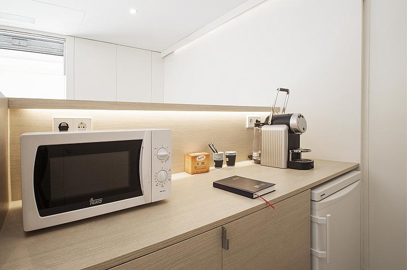 Cocina - Despacho en alquiler en calle Francesc Layret, Centre en Badalona - 273200079