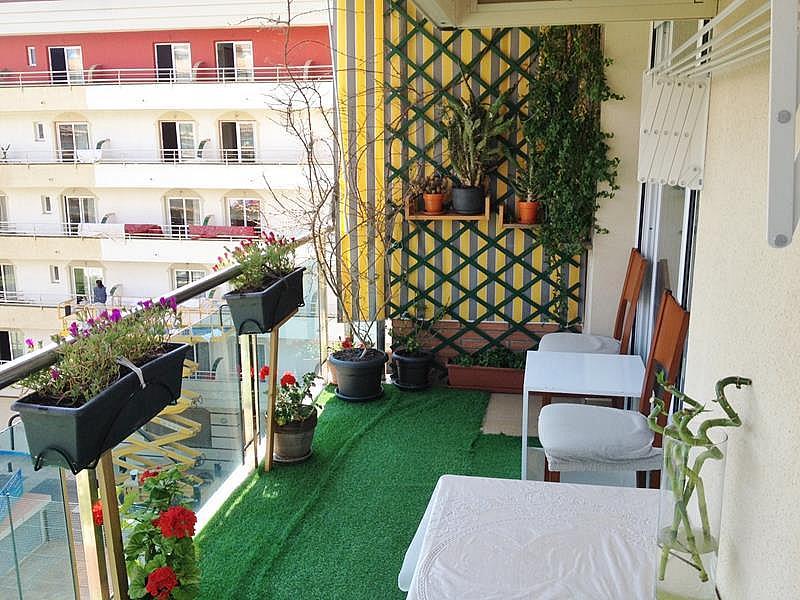 Balcón - Apartamento en venta en plaza España, Santa Susanna - 318051734