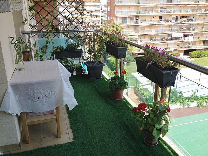 Balcón - Apartamento en venta en plaza España, Santa Susanna - 318051737