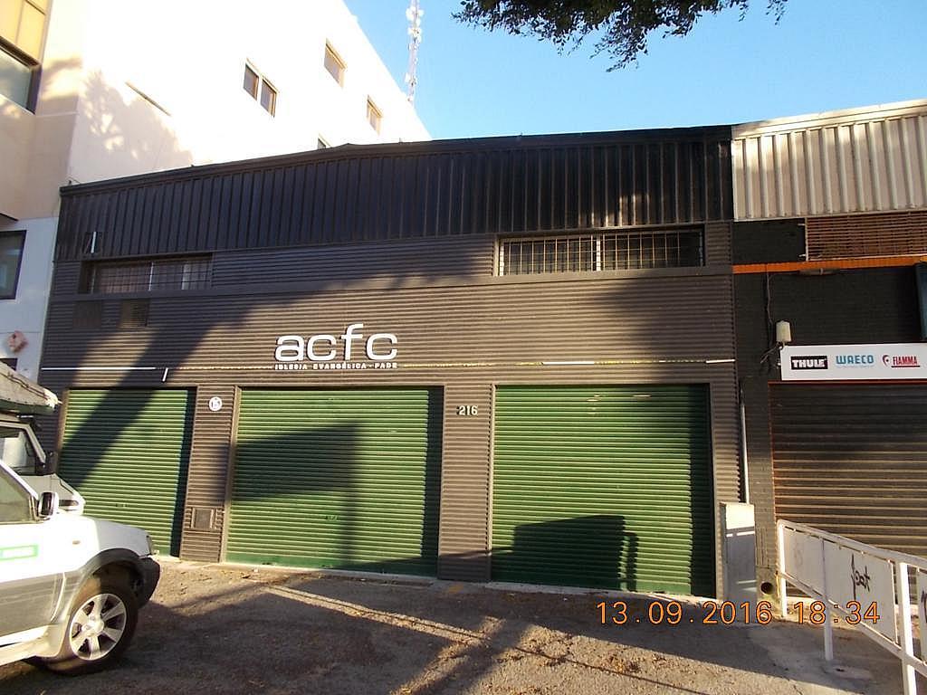 Fachada - Nave en alquiler en calle Sierra Alhamilla, Ciudad Jardin en Almería - 323046188