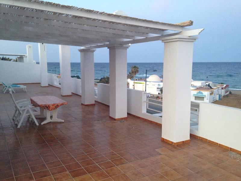 Terraza - Ático en alquiler de temporada en paseo Del Mediterraneo, Mojácar - 271892706