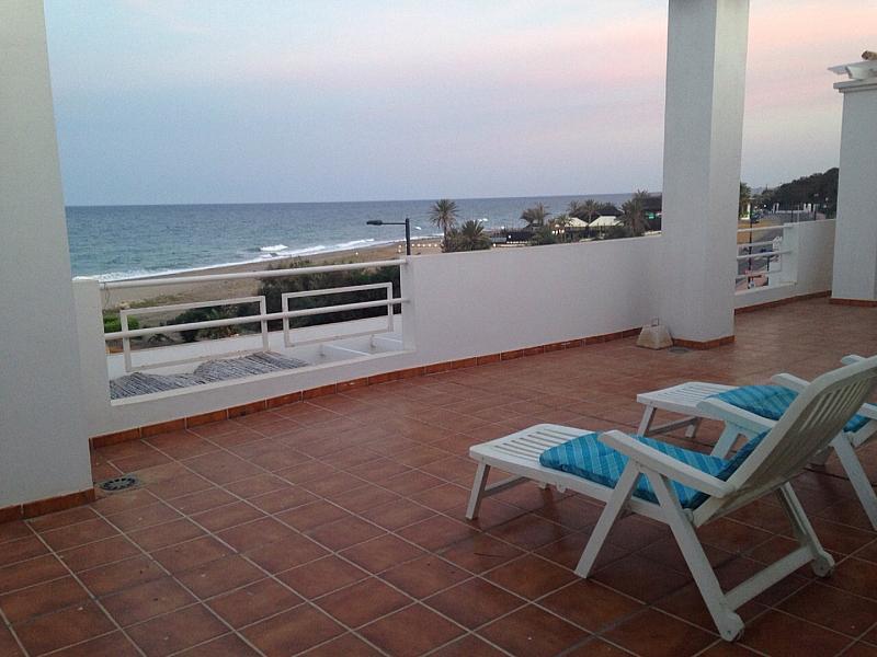 Terraza - Ático en alquiler de temporada en paseo Del Mediterraneo, Mojácar - 271892709