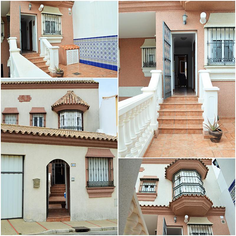 Fachada - Casa adosada en alquiler en calle Pablo Neruda, El Lugar en Chiclana de la Frontera - 271894905