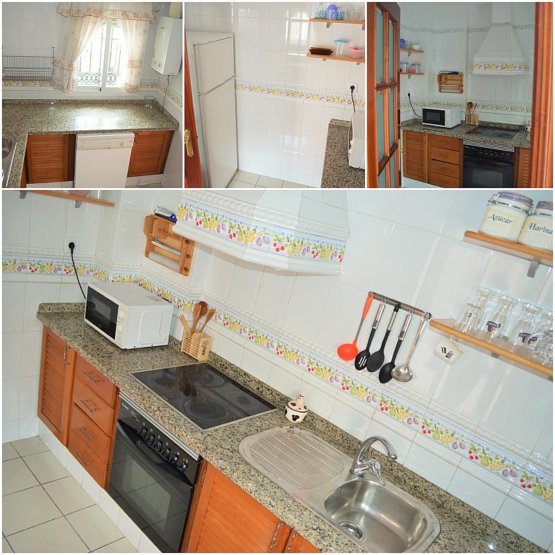 Cocina - Casa adosada en alquiler en calle Pablo Neruda, El Lugar en Chiclana de la Frontera - 271894908