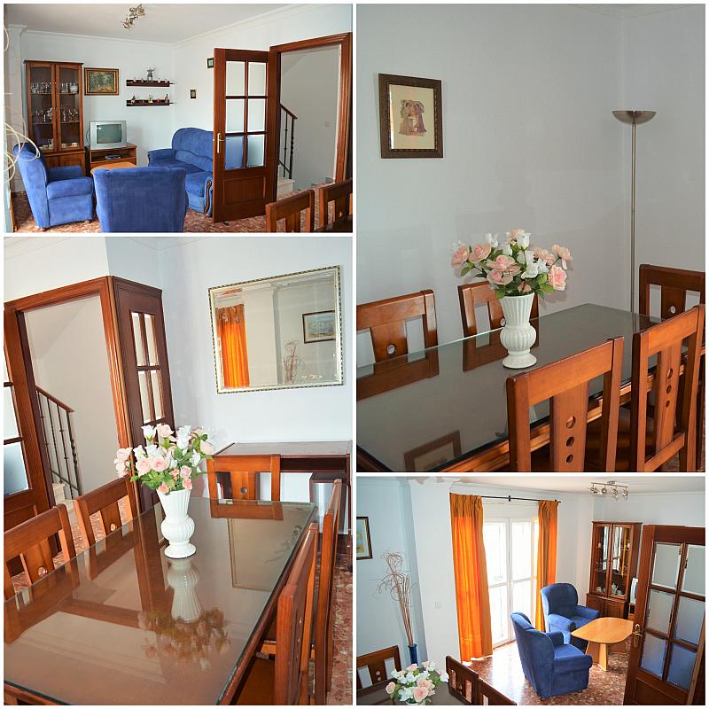 Salón - Casa adosada en alquiler en calle Pablo Neruda, El Lugar en Chiclana de la Frontera - 271894913