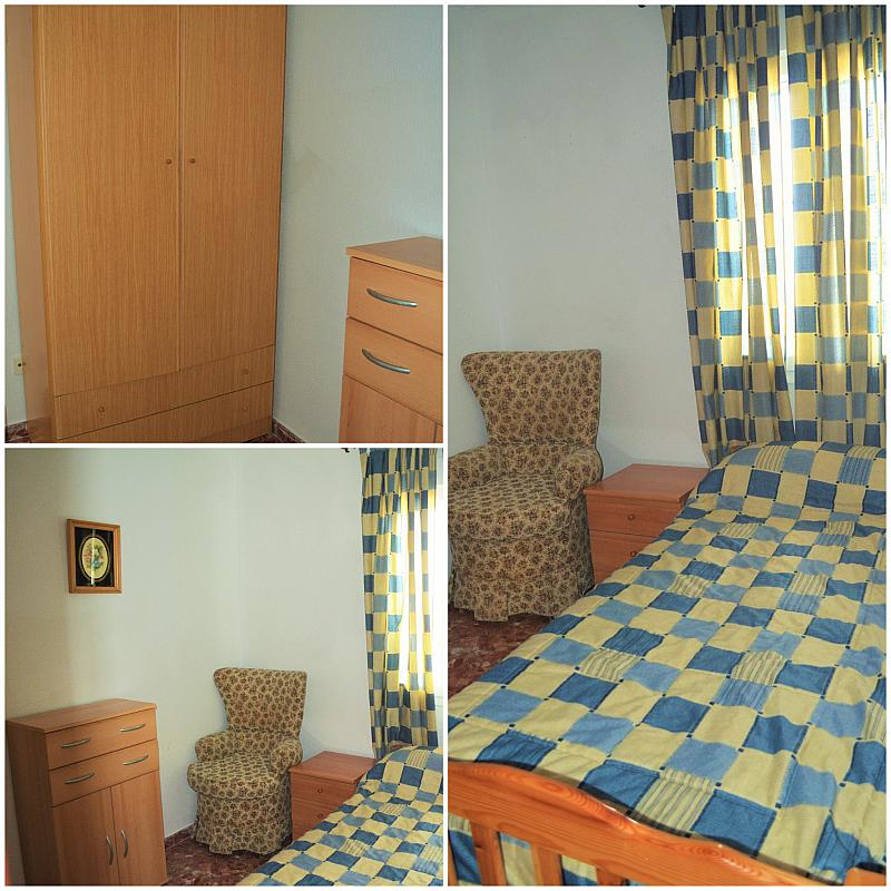 Dormitorio - Casa adosada en alquiler en calle Pablo Neruda, El Lugar en Chiclana de la Frontera - 271894921