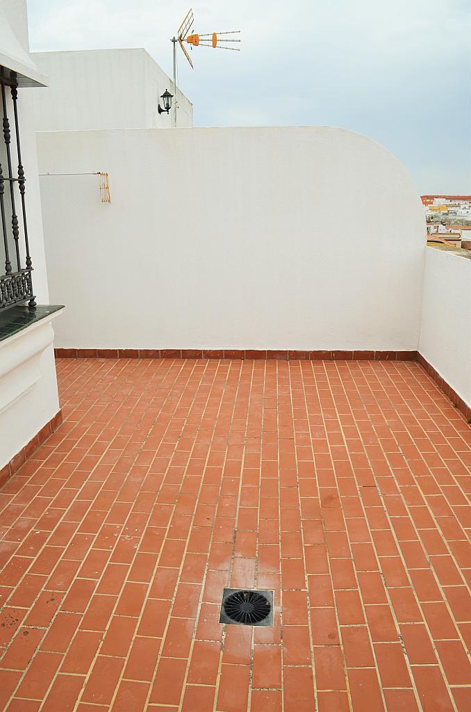 Azotea - Casa adosada en alquiler en calle Pablo Neruda, El Lugar en Chiclana de la Frontera - 271894951