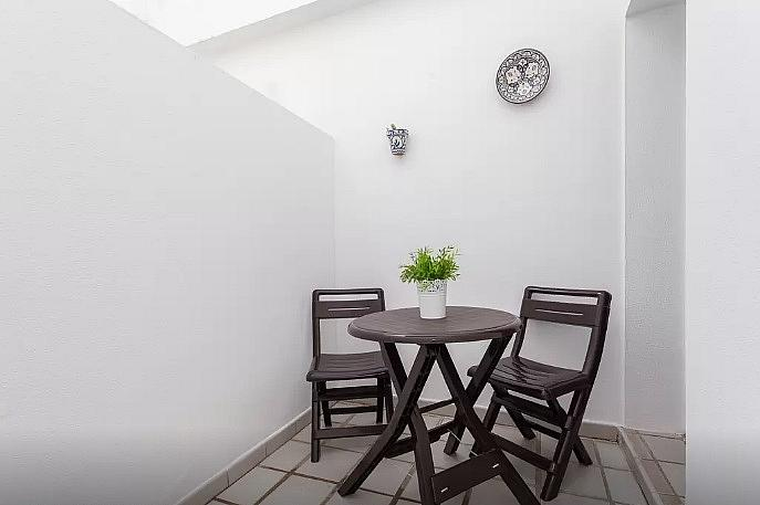 Patio - Apartamento en alquiler de temporada en calle Vendimiadores, Conil de la Frontera - 280711973