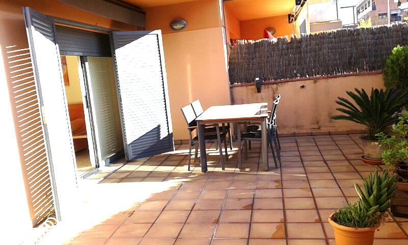 Patio - Piso en alquiler opción compra en calle Passapera, Fanals en Lloret de Mar - 318900844