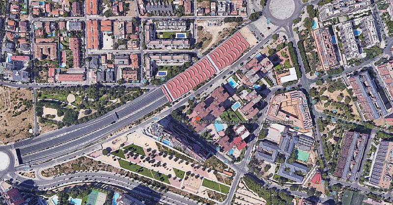 Plano - Local comercial en alquiler en calle Doctor Ramón Castroviejo, Peñagrande en Madrid - 285249234
