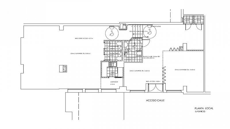 Plano - Local comercial en alquiler en calle Doctor Ramón Castroviejo, Peñagrande en Madrid - 285249237