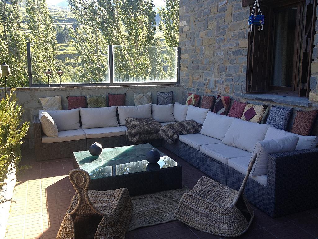 Terraza - Apartamento en alquiler de temporada en calle Tubería, Sallent de Gállego - 288654336