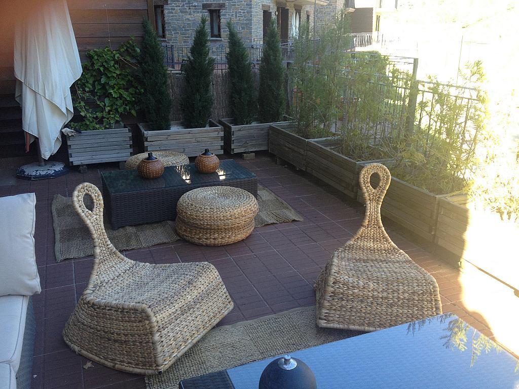Terraza - Apartamento en alquiler de temporada en calle Tubería, Sallent de Gállego - 288659604