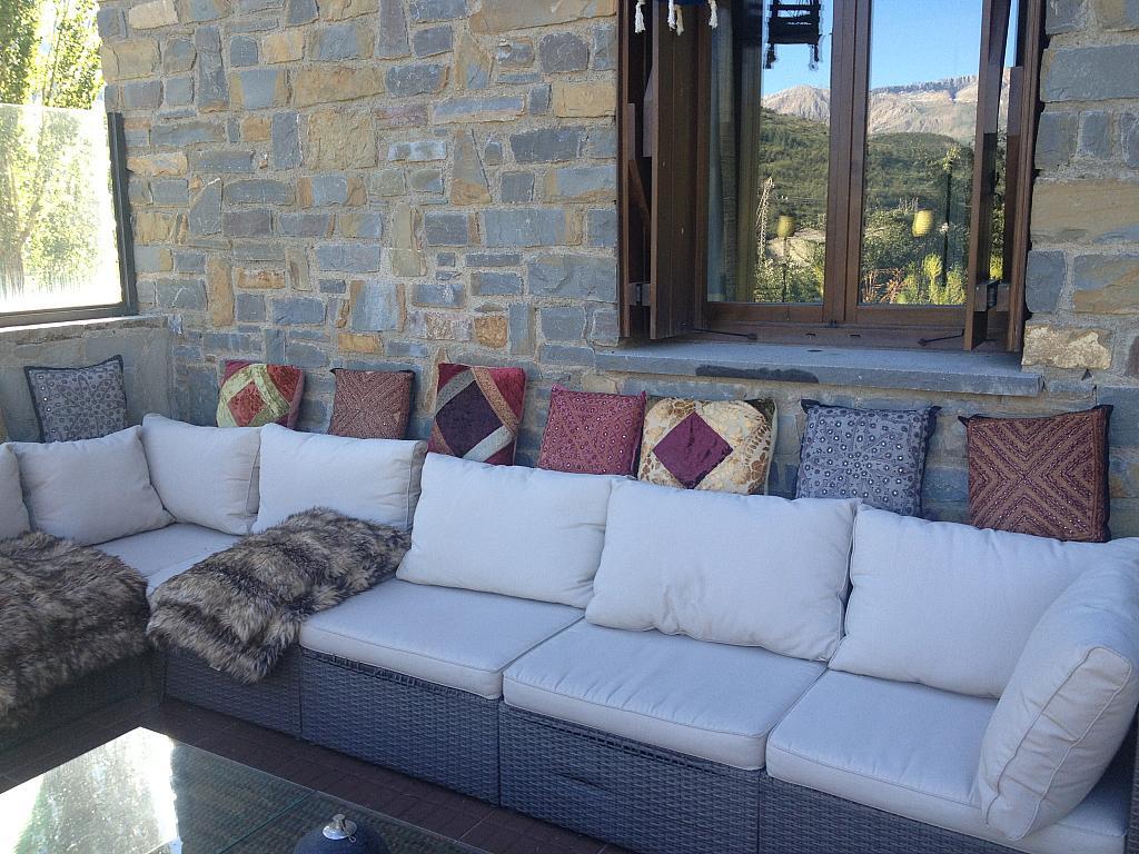 Terraza - Apartamento en alquiler de temporada en calle Tubería, Sallent de Gállego - 288659665