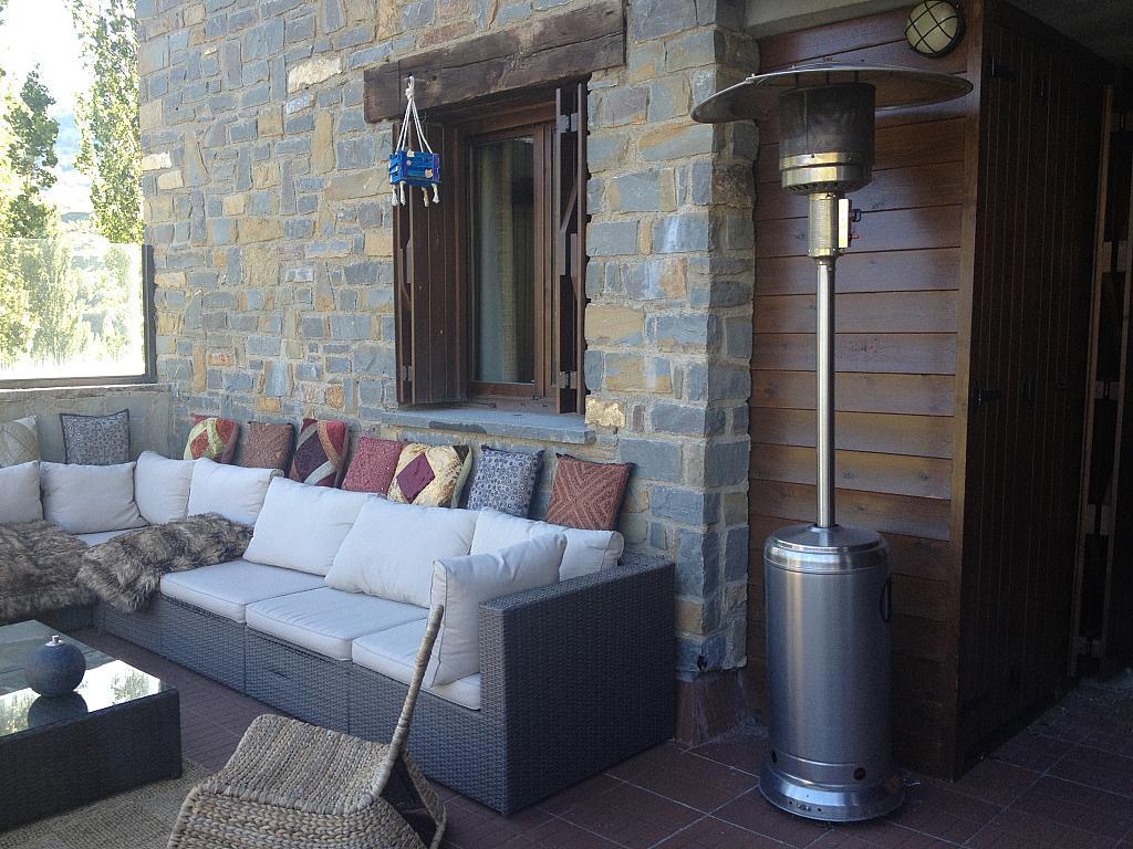 Terraza - Apartamento en alquiler de temporada en calle Tubería, Sallent de Gállego - 288659954