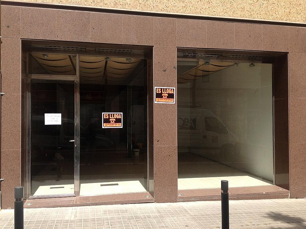 Fachada - Local comercial en alquiler en calle Cardenal Vives i Tutó, Sarrià en Barcelona - 312157885