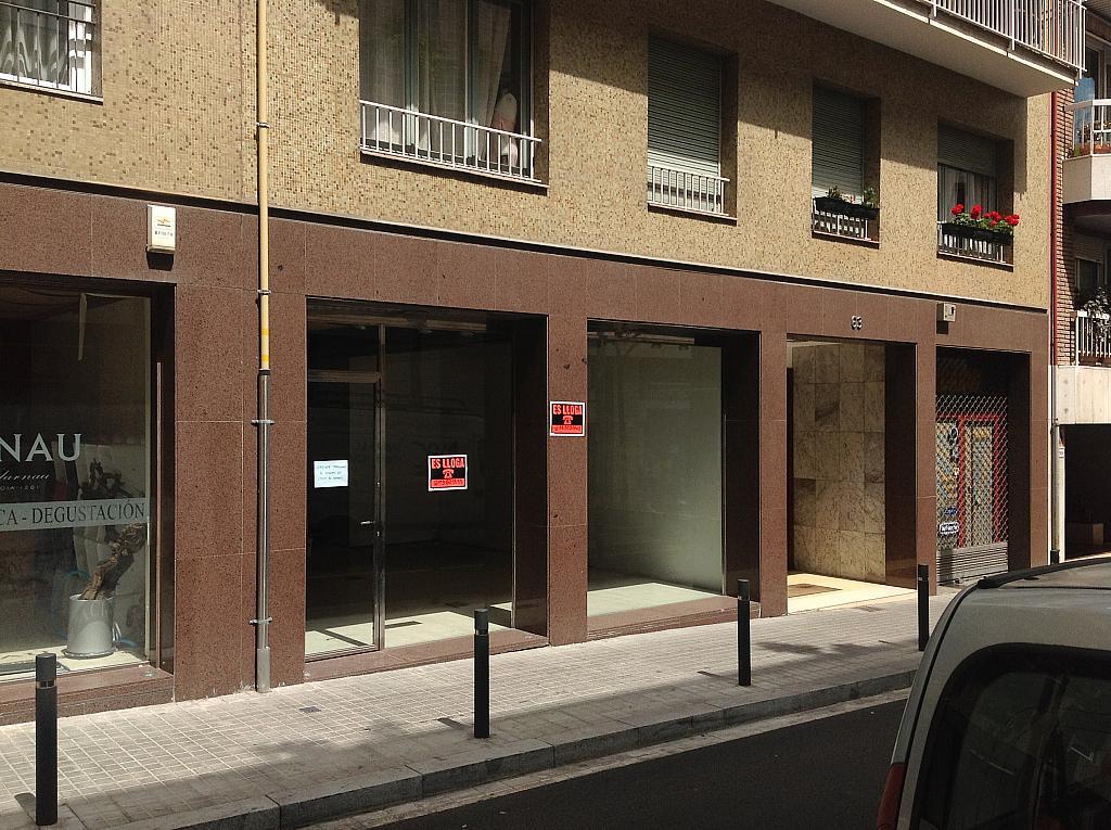 Fachada - Local comercial en alquiler en calle Cardenal Vives i Tutó, Sarrià en Barcelona - 312157904