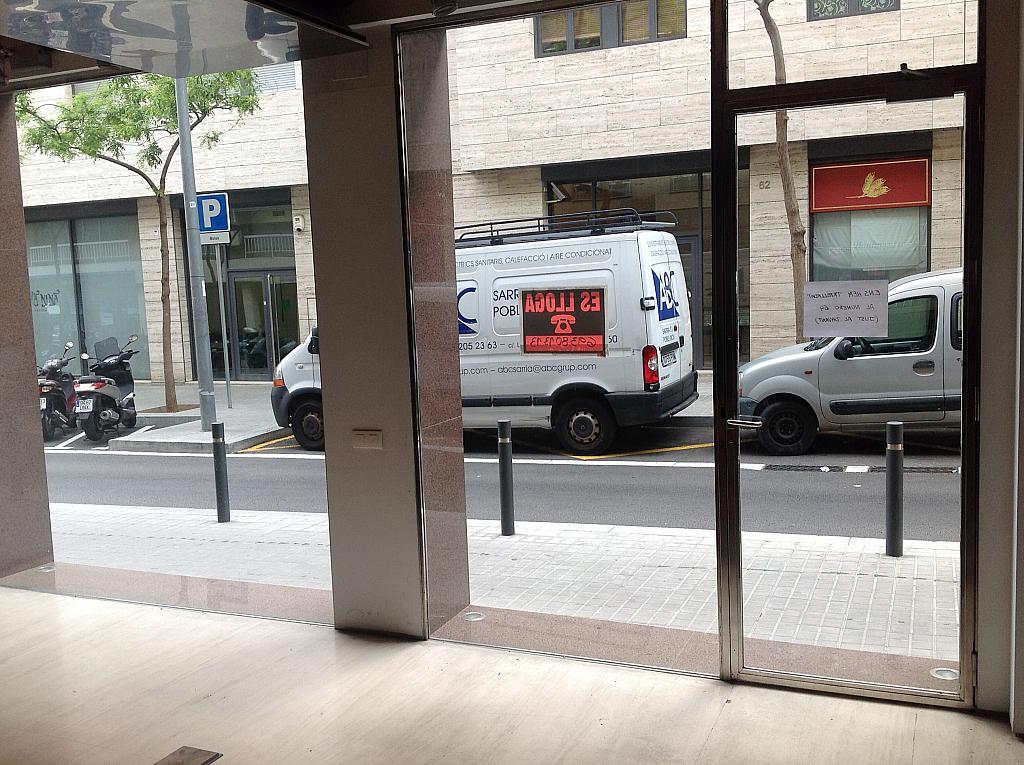 Vestíbulo - Local comercial en alquiler en calle Cardenal Vives i Tutó, Sarrià en Barcelona - 312157972