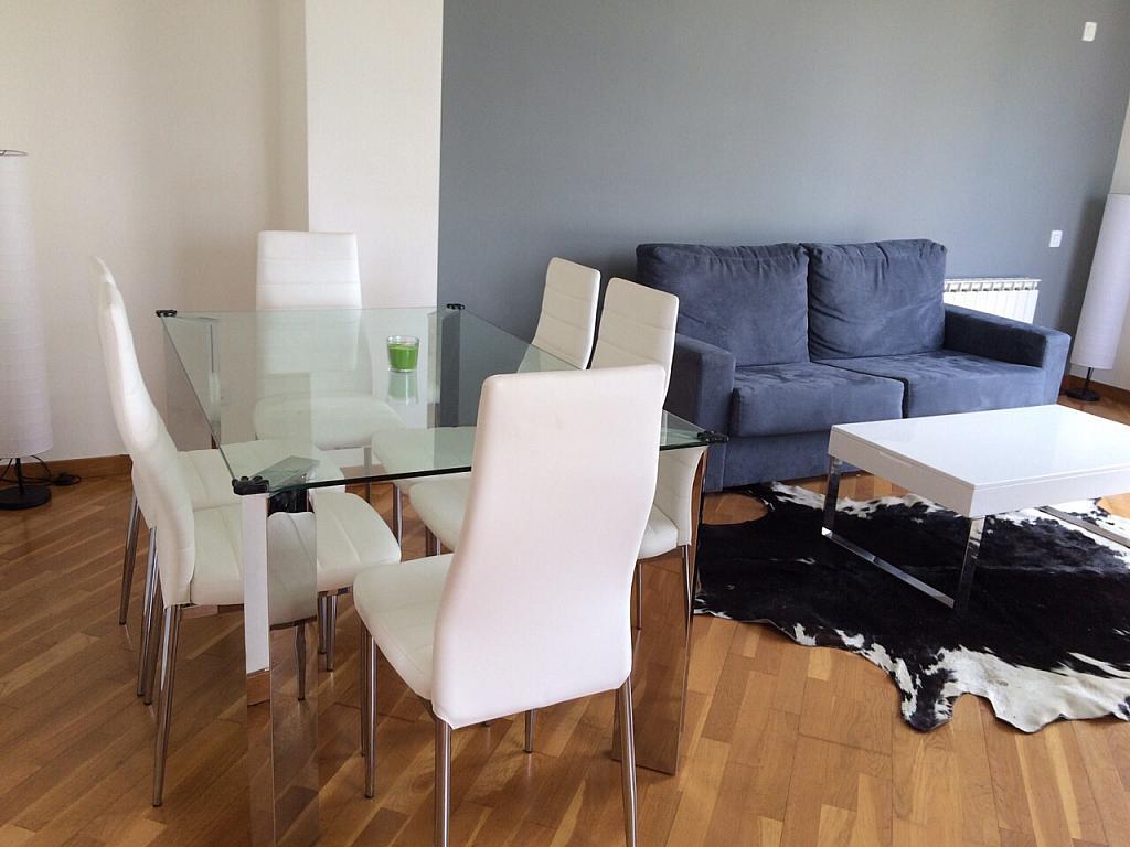 Comedor - Apartamento en alquiler en pasaje Taulat, Diagonal Mar en Barcelona - 291129456