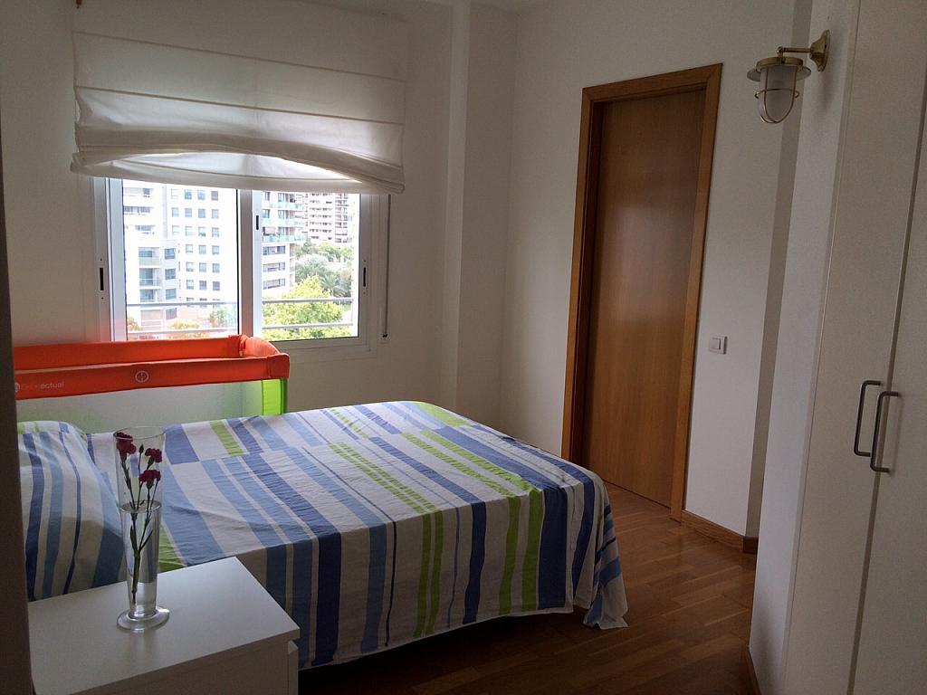 Dormitorio - Apartamento en alquiler en pasaje Taulat, Diagonal Mar en Barcelona - 291129503