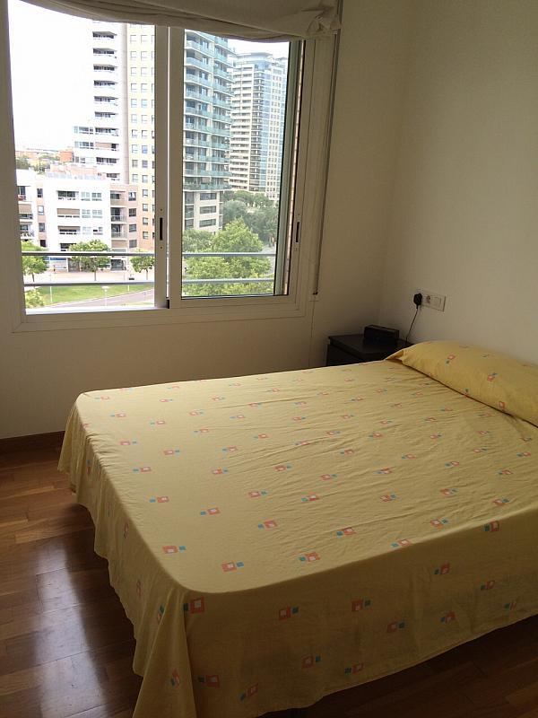 Dormitorio - Apartamento en alquiler en pasaje Taulat, Diagonal Mar en Barcelona - 291129507