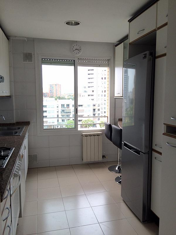 Cocina - Apartamento en alquiler en pasaje Taulat, Diagonal Mar en Barcelona - 291129512