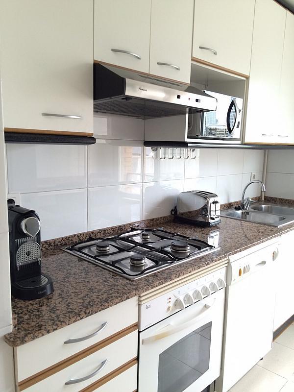 Cocina - Apartamento en alquiler en pasaje Taulat, Diagonal Mar en Barcelona - 291129536