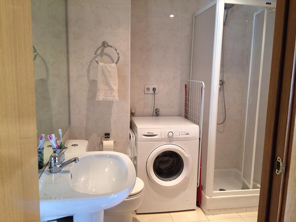 Baño - Apartamento en alquiler en pasaje Taulat, Diagonal Mar en Barcelona - 291129604