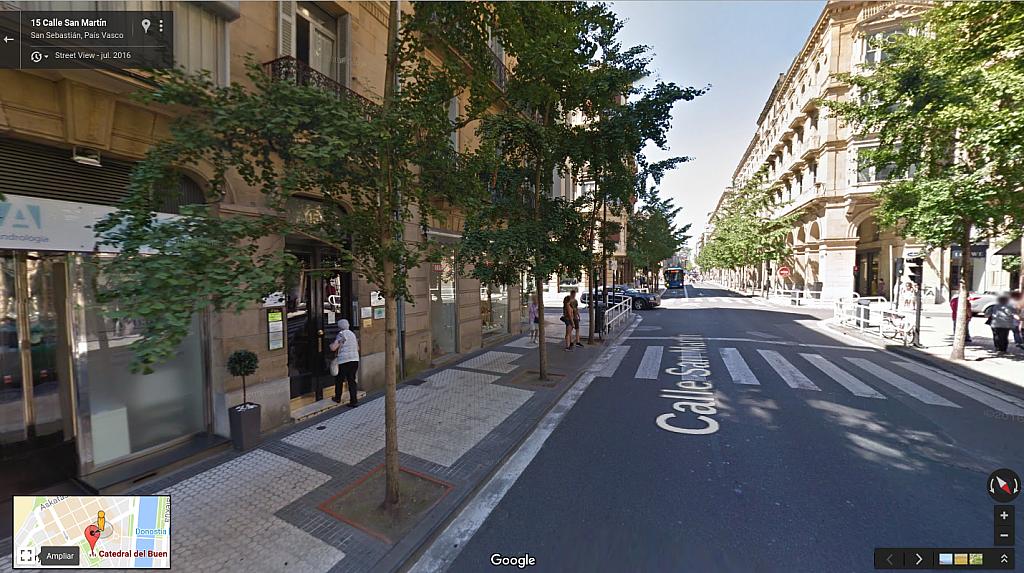 Fachada - Oficina en alquiler en calle San Martin, Centro en San Sebastián-Donostia - 323944294