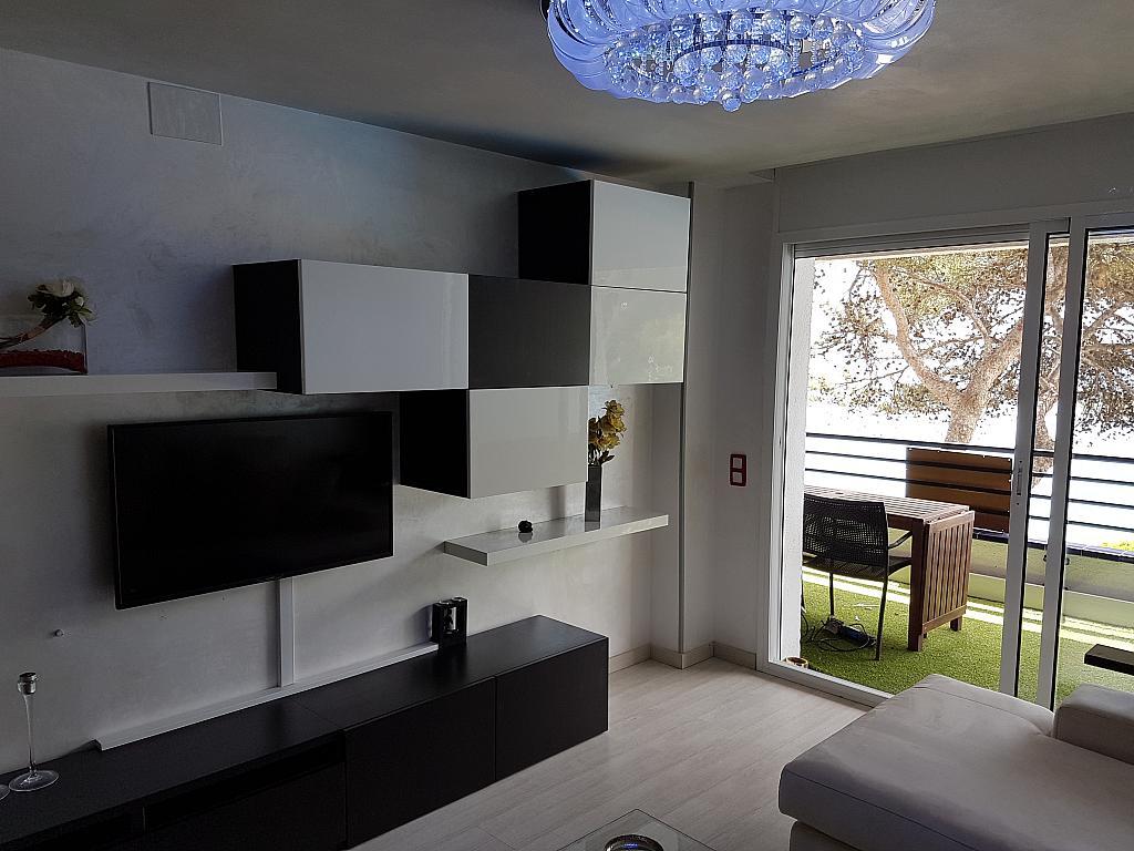 Comedor - Apartamento en alquiler de temporada en calle Passeo Maritimo, Miami platja - Miami playa - 295692292