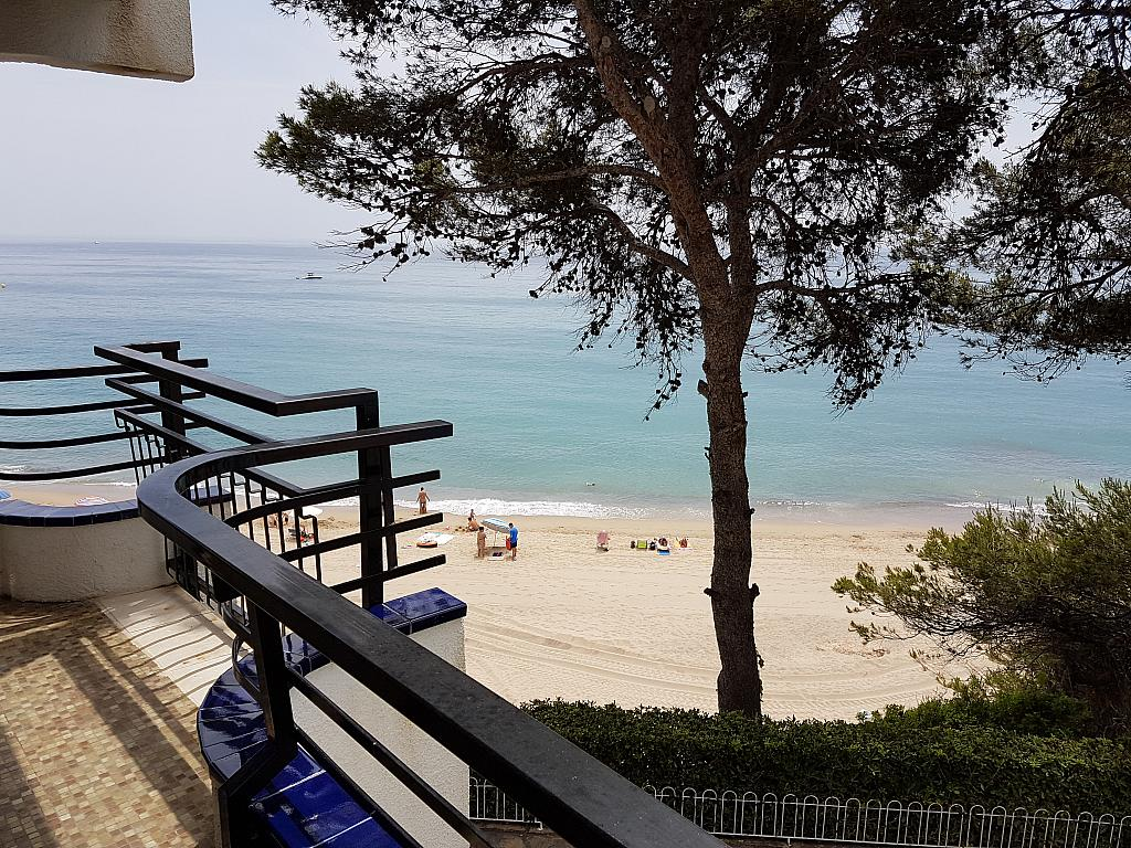Balcón - Apartamento en alquiler de temporada en calle Passeo Maritimo, Miami platja - Miami playa - 295692378