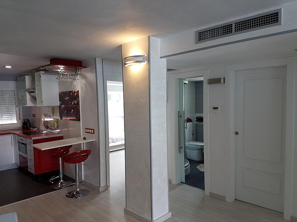 Comedor - Apartamento en alquiler de temporada en calle Passeo Maritimo, Miami platja - Miami playa - 295692449