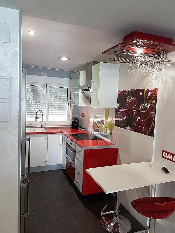Cocina - Apartamento en alquiler de temporada en calle Passeo Maritimo, Miami platja - Miami playa - 295693413