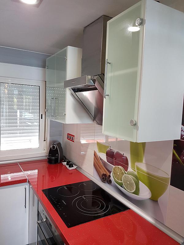 Cocina - Apartamento en alquiler de temporada en calle Passeo Maritimo, Miami platja - Miami playa - 295693418