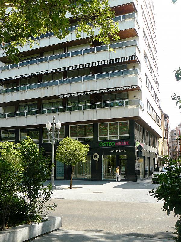 Fachada - Oficina en alquiler en paseo Acera de Recoletos, Centro en Valladolid - 295780006