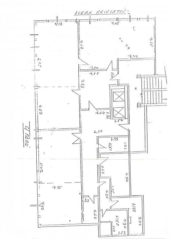 Plano - Oficina en alquiler en paseo Acera de Recoletos, Centro en Valladolid - 295785981