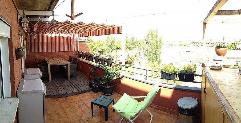 Terraza - Ático en alquiler en calle Viñegra, Los Cármenes en Madrid - 354201055