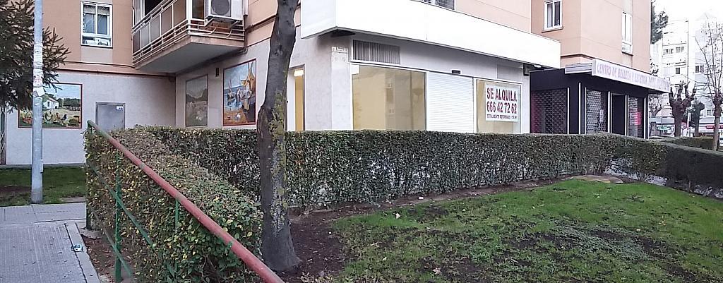 Fachada - Local comercial en alquiler en calle Uruguay, La Espinilla en Coslada - 309826338