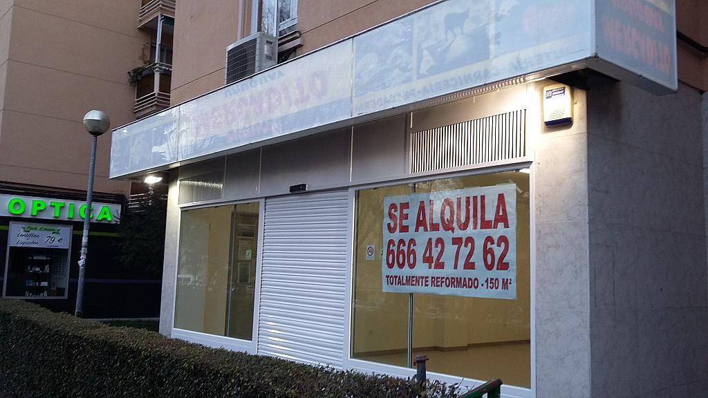 Fachada - Local comercial en alquiler en calle Uruguay, La Espinilla en Coslada - 309826361