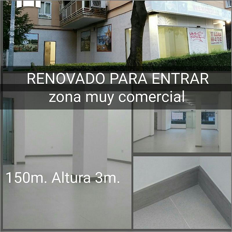 Vistas - Local comercial en alquiler en calle Uruguay, La Espinilla en Coslada - 375431178