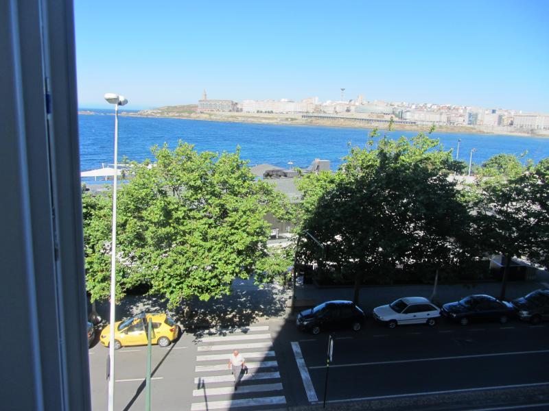 Vistas - Piso en alquiler de temporada en vía De Ronda, Riazor-Labañou-Los Rosales en Coruña (A) - 120903698