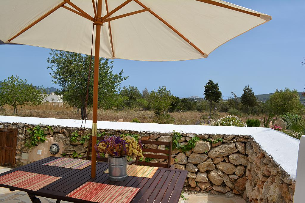 Terraza - Casa rural en alquiler de temporada en calle Diseminado Creu Des Magres, Sant Antoni de Portmany - 312913743