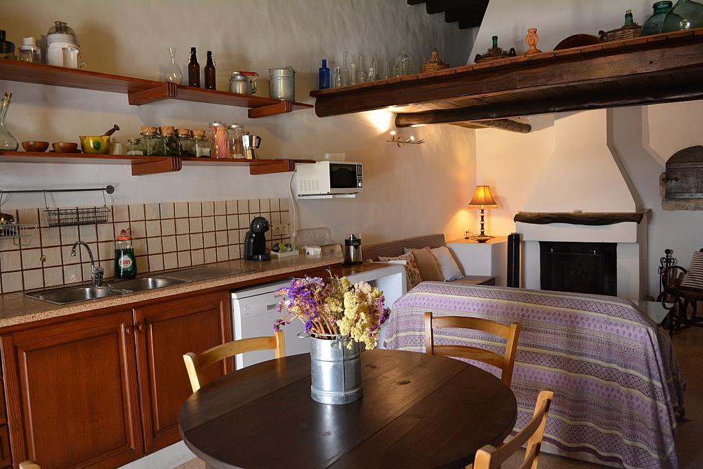 Cocina - Casa rural en alquiler de temporada en calle Diseminado Creu Des Magres, Sant Antoni de Portmany - 312913978