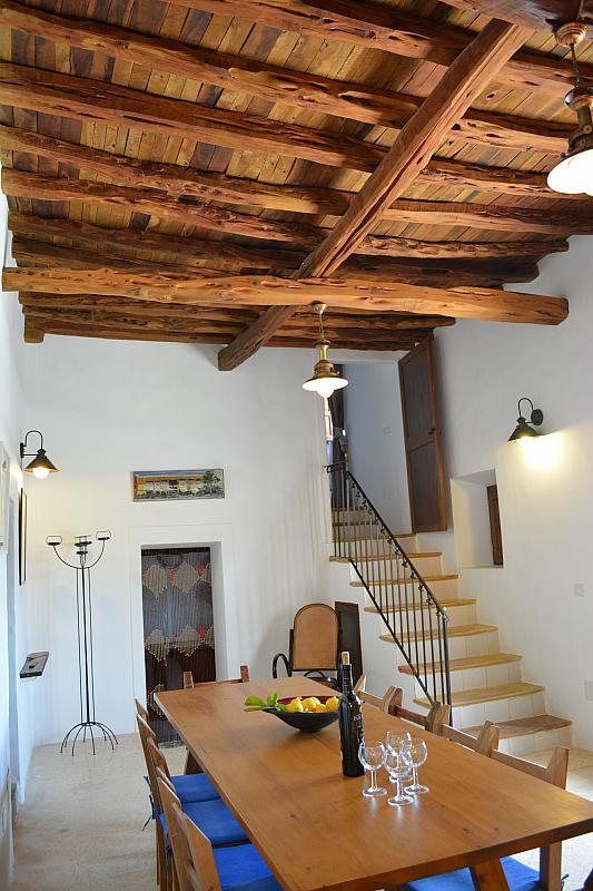 Salón - Casa rural en alquiler de temporada en calle Diseminado Creu Des Magres, Sant Antoni de Portmany - 312914013
