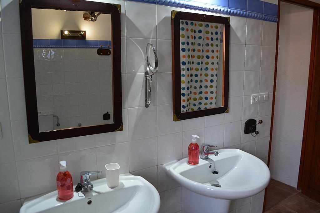 Baño - Casa rural en alquiler de temporada en calle Diseminado Creu Des Magres, Sant Antoni de Portmany - 312914235