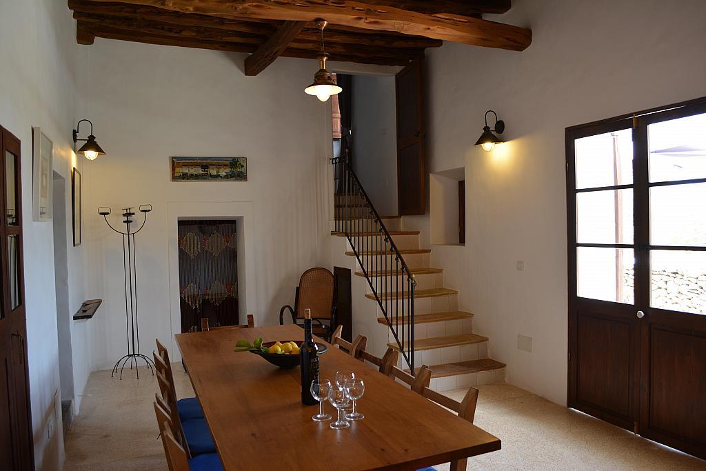 Salón - Casa rural en alquiler de temporada en calle Diseminado Creu Des Magres, Sant Antoni de Portmany - 312914237